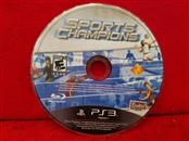 Sports Champions (Sony Playstation 3, 2010) Disc Only
